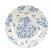 Farfurie Churchill China Toile Blue de Jardin, 20 cm