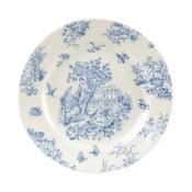 Farfurie Churchill China Toile Blue de Jardin, 20 cm