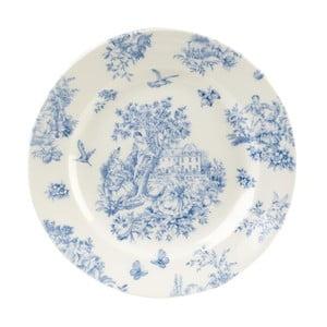 Talíř Churchill China Toile Blue de Jardin, 20 cm