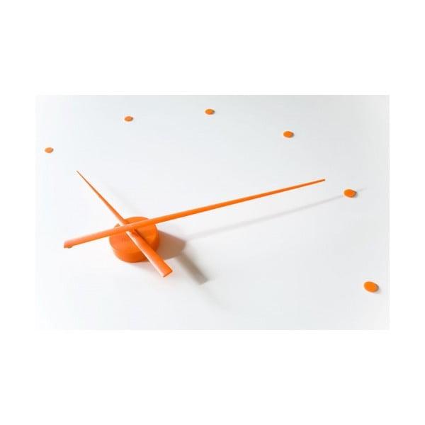 Hodiny Oj 80 cm, oranžové