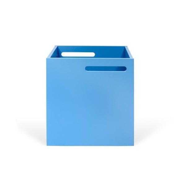 Berlin kék tárolódoboz könyvespolchoz - TemaHome
