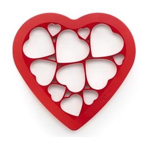 Silikonové vykrajovátko Puzzle Hearts