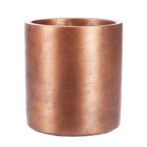 Květináč Copper Cer, 13x13 cm