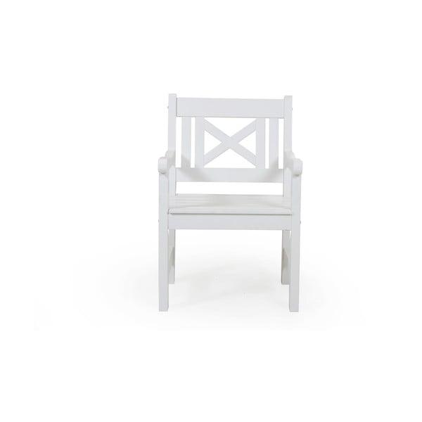 Bílá zahradní židle Brafab Grundsund