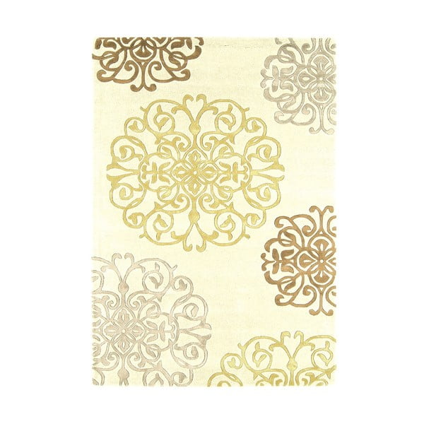 Vlněný koberec Matrix Tangier Cream 120x170 cm