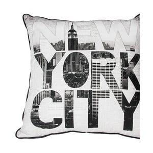 Pernă Graham & Brown New York Type, 50 x 50 cm