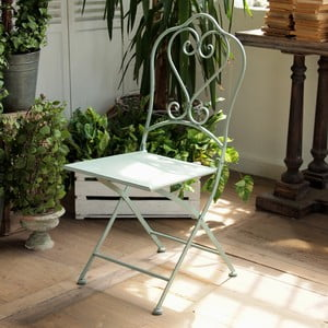 Sada 2 kovových židlí Green Farm