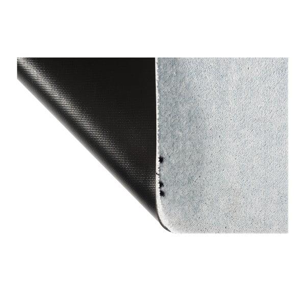 Covor ușă Hanse Home StateMat Please Press, 50 x 75 cm, gri