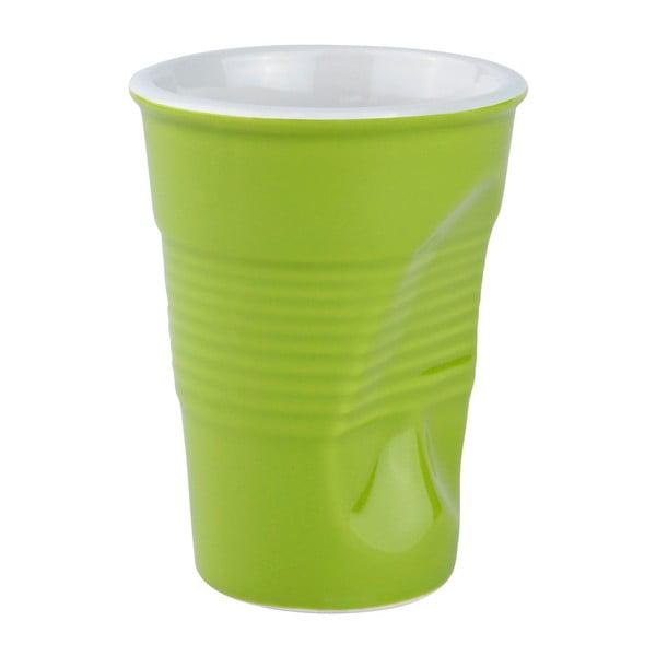 Zmačkaný hrnek 0,2 l, zelený