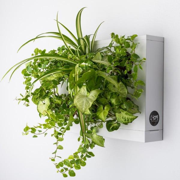 Vertikální květináč HOH! Bianco, 38x27 cm
