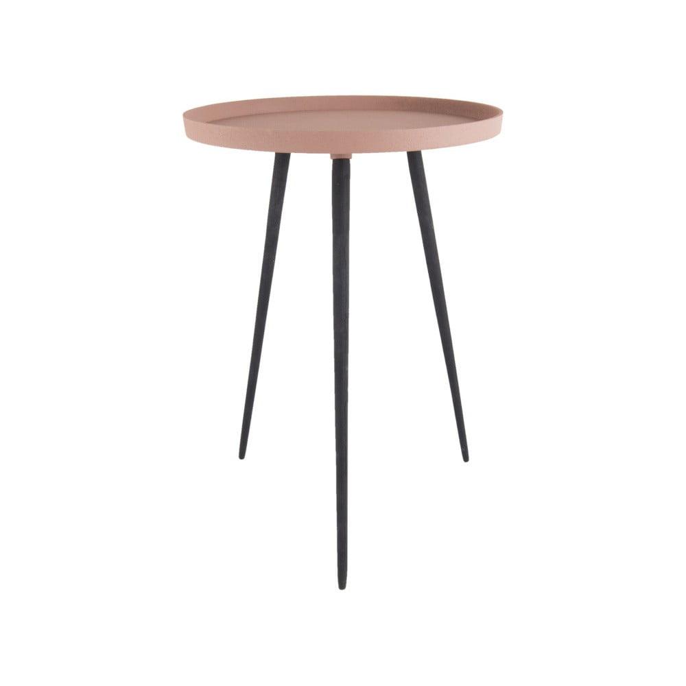 Růžový příruční stolek Leitmotiv Nimble