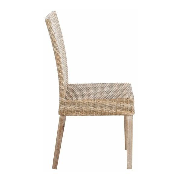Sada 2 béžových jídelních židlí Støraa Safran