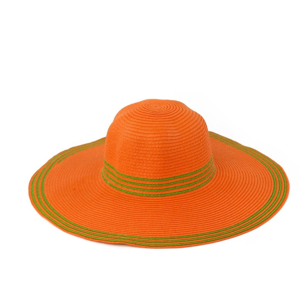 Oranžový klobouk Art of Polo Warm