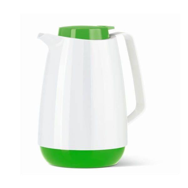 Termo konvice Momento Coffee White/Green, 1 l