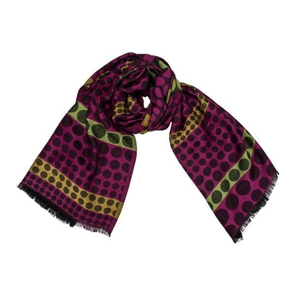 Vlněný šátek Shirin Sehan Lenja Viola