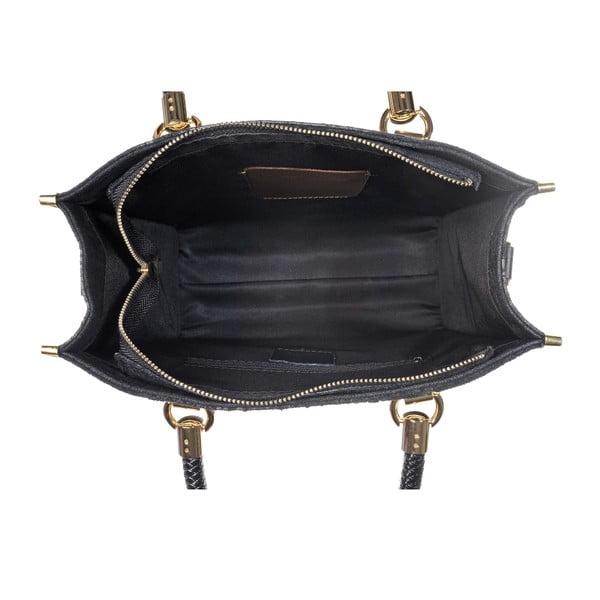 Kožená kabelka Rep Black