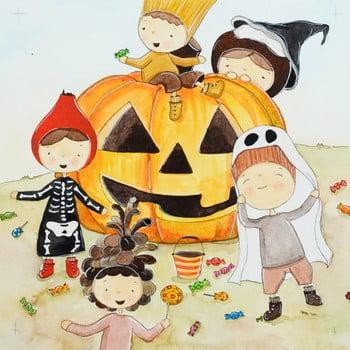 Set 10 șervețele din hârtie PPD Hildegard Halloween de la PPD