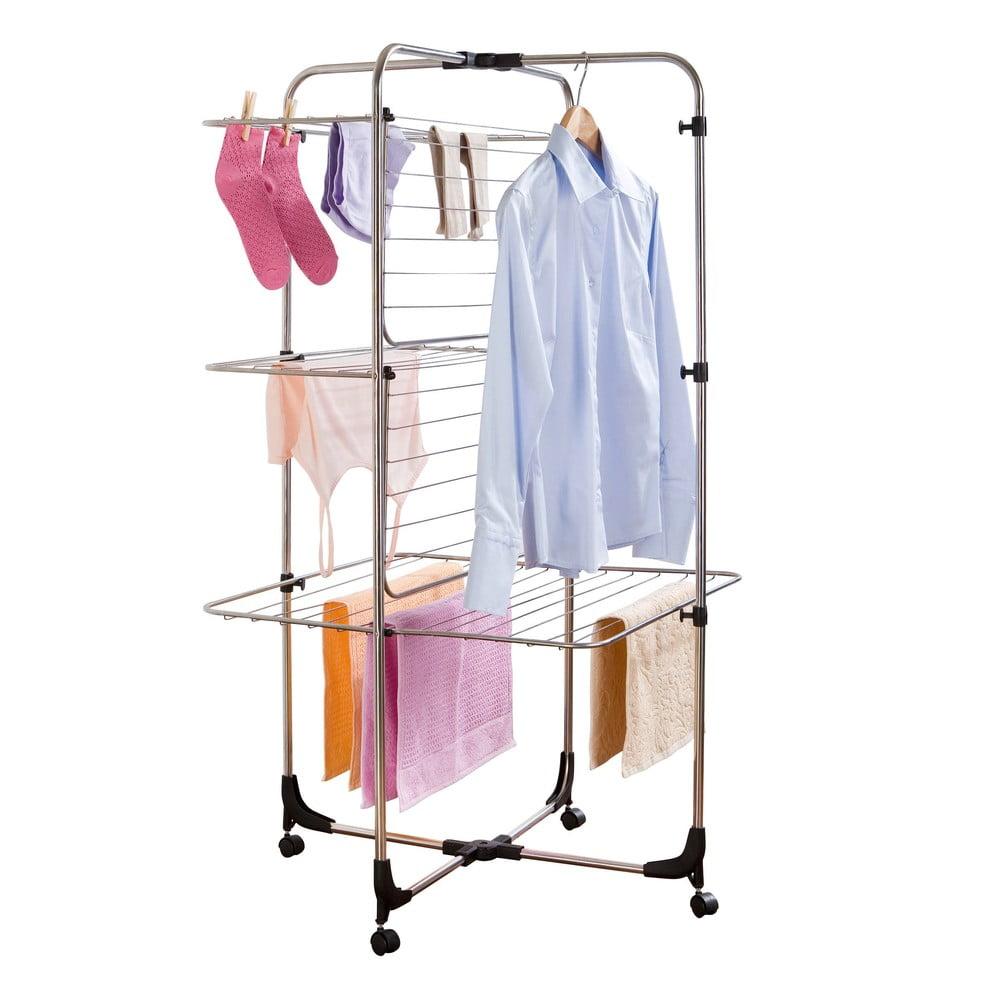 Tříposchoďový sušák na prádlo Wenko Laundry