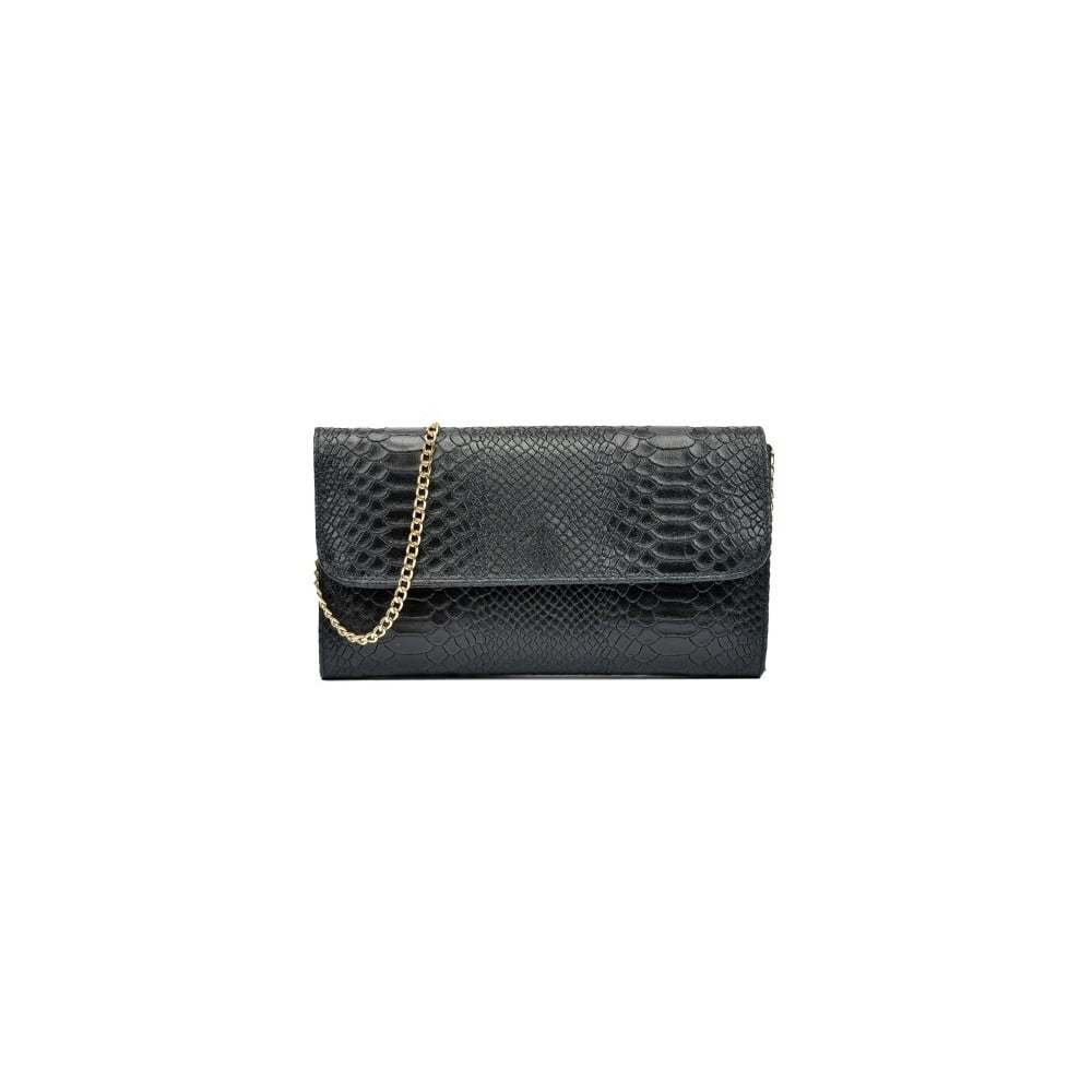 Černá kožená kabelka Isabella Rhea Pura Nero f9a2df5f93