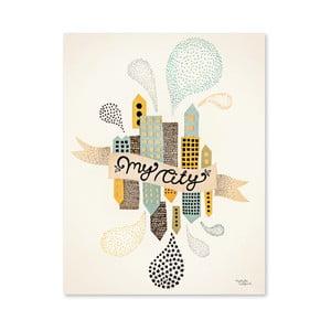 Plakát Michelle Carlslund My City Two, 30x40cm