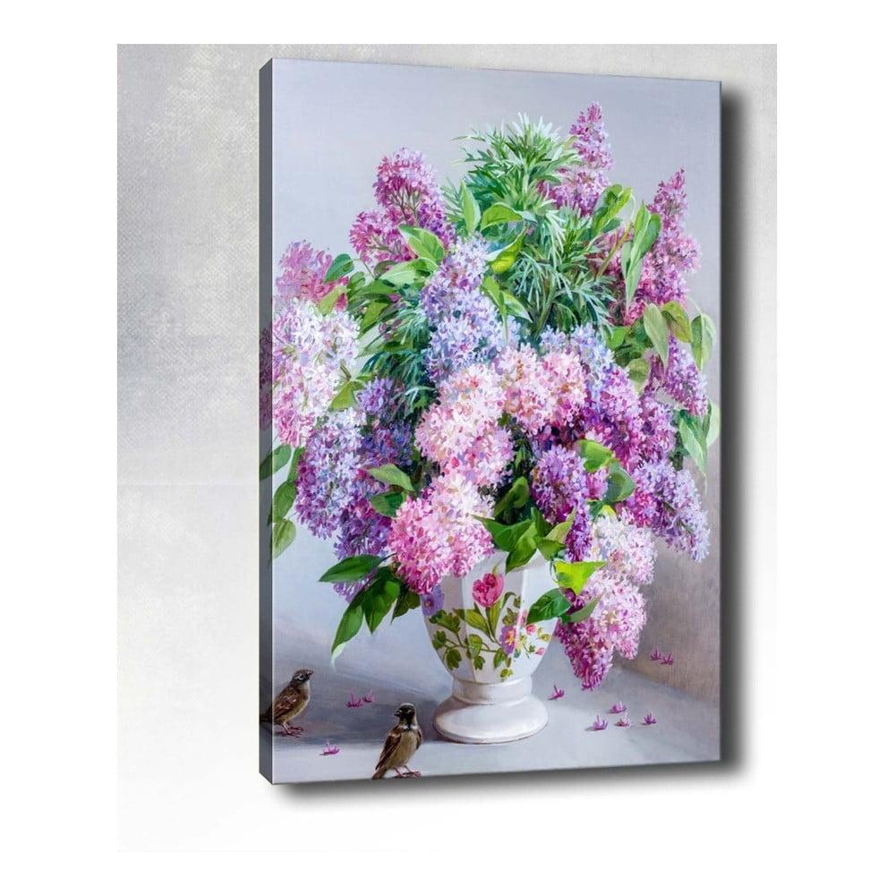 Nástěnný obraz na plátně Tablo Center Lilacs, 40 x 60 cm