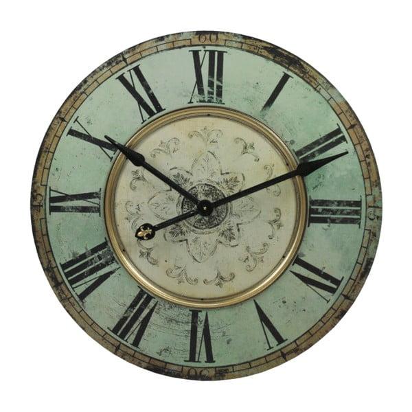 Nástěnné hodiny Blue Vintage