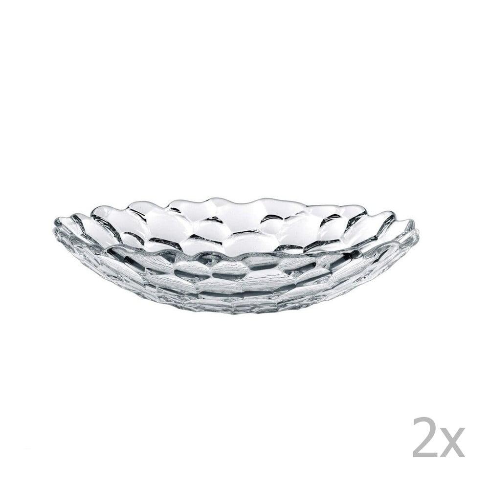 Sada 2 polévkových talířů z křišťálového skla Nachtmann Sphere, ⌀ 25 cm