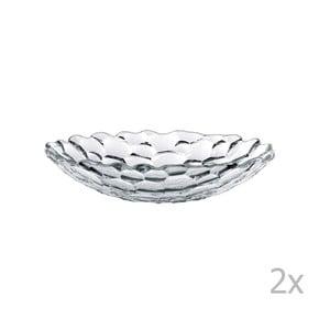 Sada 2 polévkových talířů z křišťálového skla Nachtmann Sphere, ⌀25cm