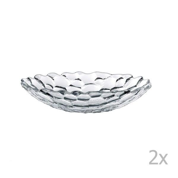 Set 2 farfurii pentru supă din cristal Nachtmann Sphere, 25cm