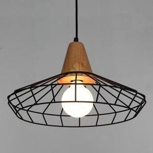 Stropní svítidlo z jasanového dřeva Massive Home Denli