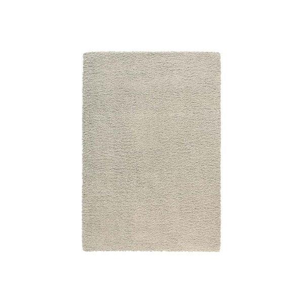 Koberec Super Shaggy 80x150 cm s 5 cm dlouhým vlasem, světle šedý