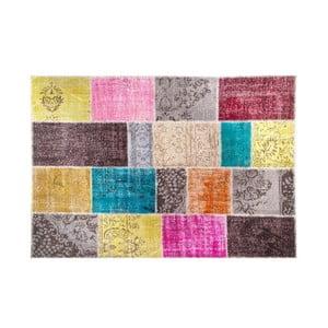 Vlněný koberec Allmode Multi Kare, 150x80 cm