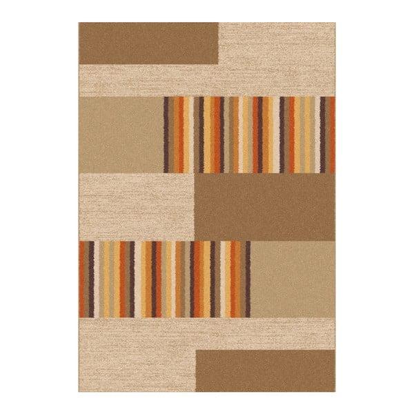 Hnědobéžový koberec Universal Boras Beige, 57x110cm