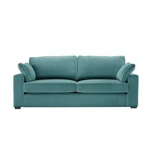 Třímístná pohovka Jalouse Maison Serena, modrá