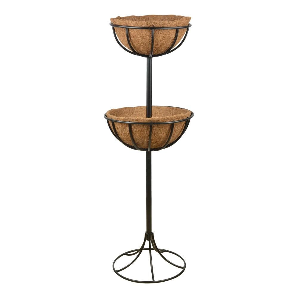 Kovový stojan se 2 koši Esschert Design Nice