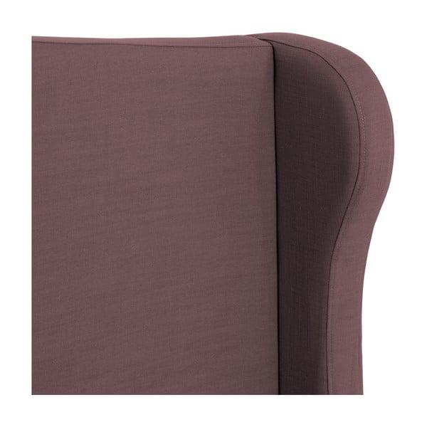 Fialová postel Vivonita Windsor Linen, 200x160cm