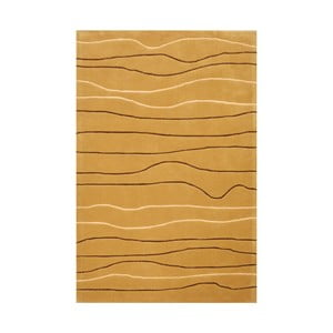 Ručně tkaný koberec Tufting, 140x200 cm, capuccino
