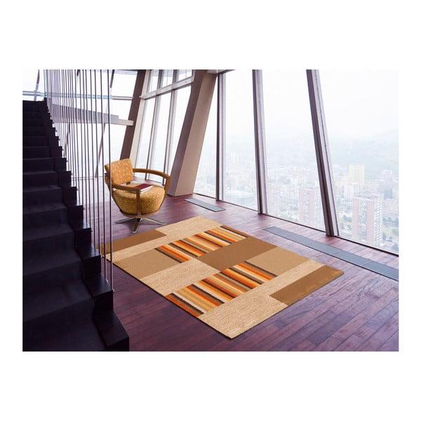 Hnědobéžový koberec Universal Boras Beige, 160x230cm