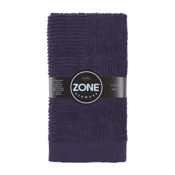 Ručník Bath, 100x50 cm, tmavě fialový