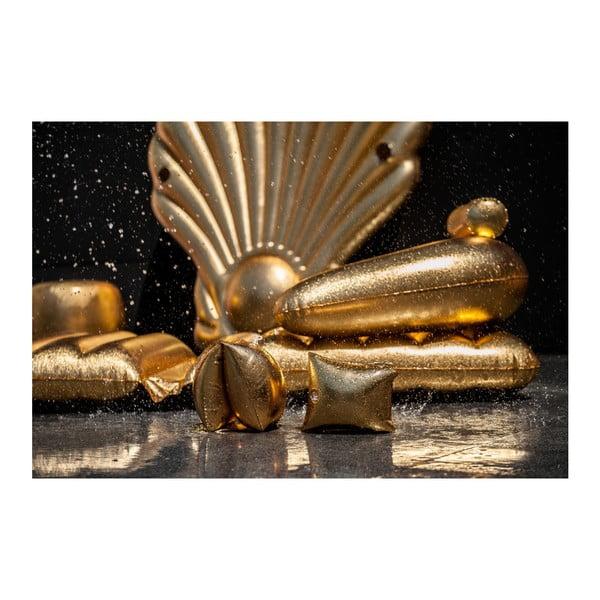Dětská nafukovací křidélka ve zlaté barvě Sunvibes Dorée