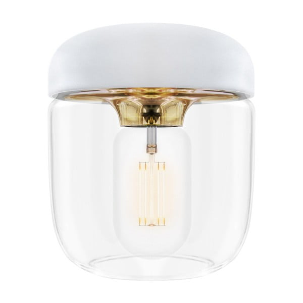 Acorn fehér lámpabúra aranyszínű foglalattal, ⌀ 14 cm - VITA Copenhagen