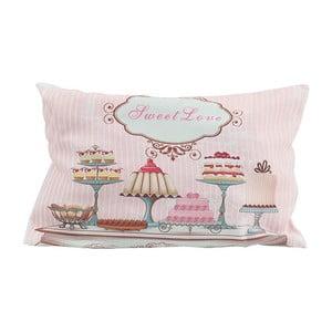Polštář s náplní Pink Cupcake, 30x45 cm