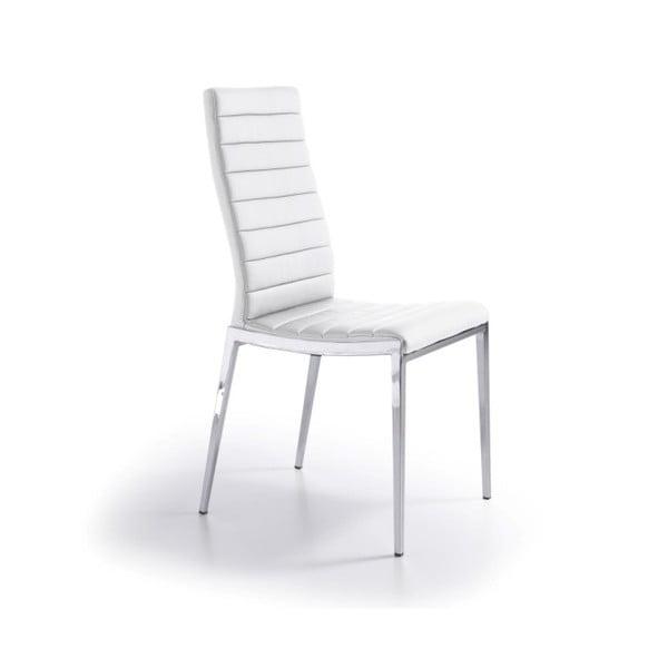 Białe krzesło Ángel Cerdá Leticia