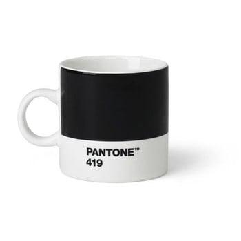 Cană Pantone Espresso, 120 ml, negru de la Pantone