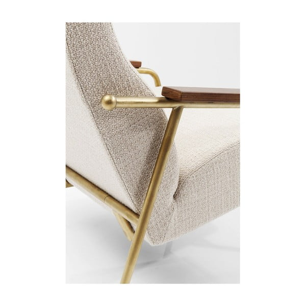 Bílé křeslo Kare Design Topogan