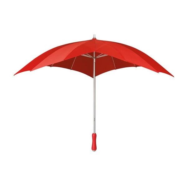 Umbrelă Ambiance Couer Rouge, ⌀ 107 cm