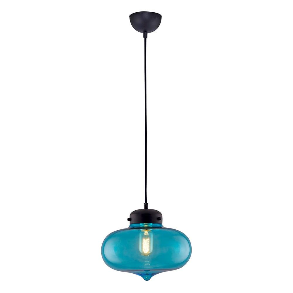 Závěsné svítidlo Glassie Blue