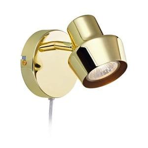 Nástěnné svítidlo ve zlaté barvě Markslöjd Urn