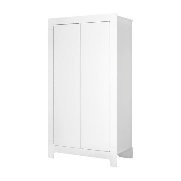 Moon fehér ruhásszekrény, 185 x 100 cm - Pinio