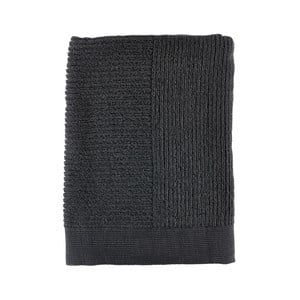 Černá osuška Zone Simple, 70x140cm